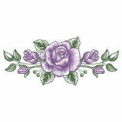 Sketched Roses 10(Sm) machine embroidery designs