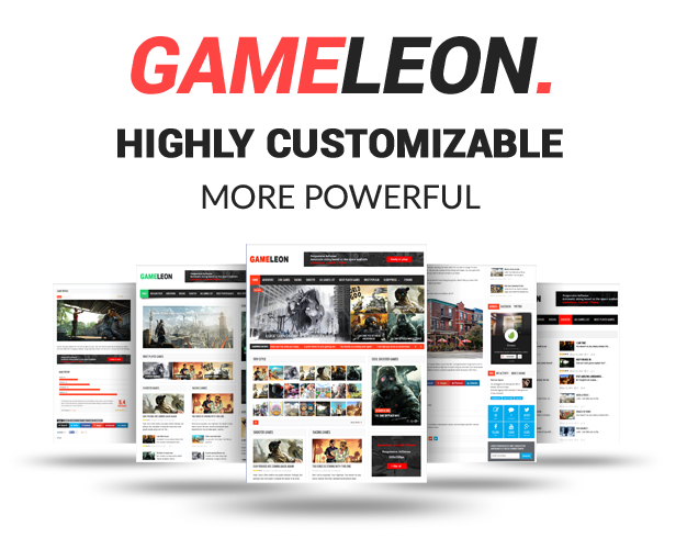Gameleon - WordPress Arcade Theme & News Magazine - 2