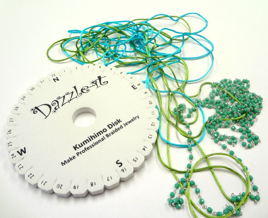 CosplaySupplies.com -- Tutorials > Beaded Chain for Kumihimo Projects