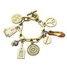 tory burch charm bracelet!