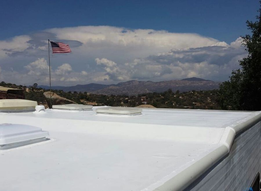 The Rv Roof Man Rv Roofs, Rvs and Trailers, Rv Roof