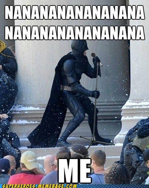 superheroes batman superman - You Self-Aggrandizing Bat-stard