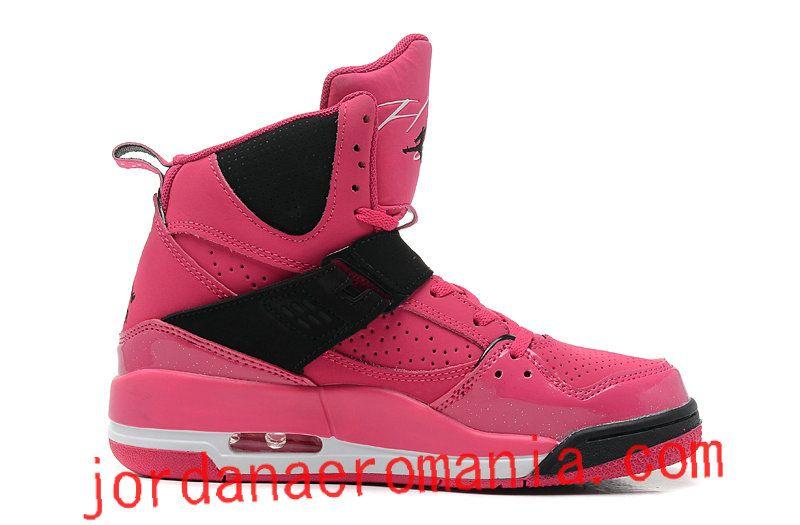 new products 49bca be404 ... reduced nike air jordan flight 45 high gs vivid pink noir for sale  695d9 40a6c