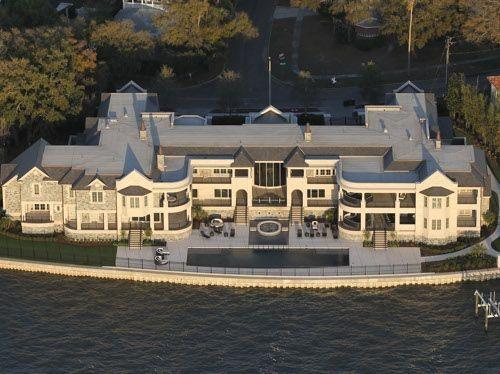 Derek Jeter S Colossal 30 875 Square Foot Mansion In Davis Islands