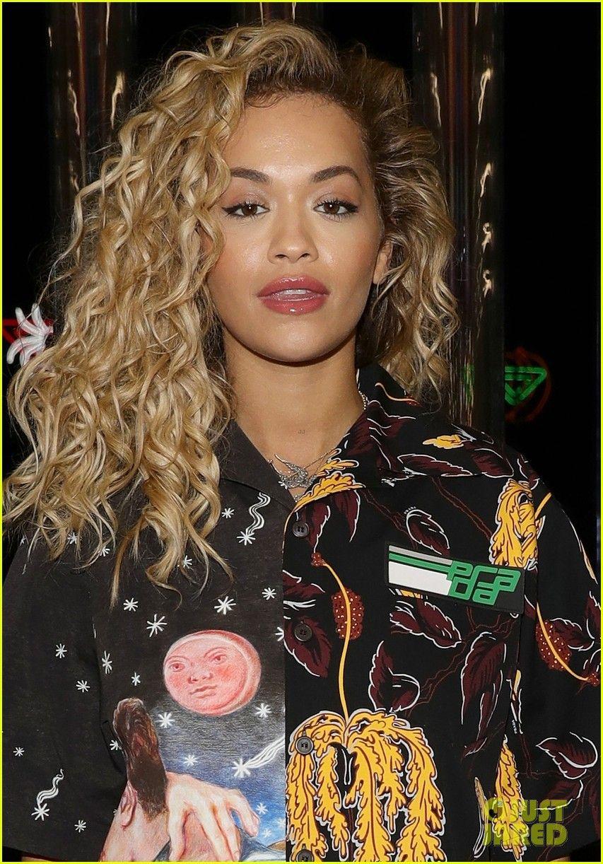 Rita Ora Goes Glam For Prada Fashion Show In Milan Rita Ora