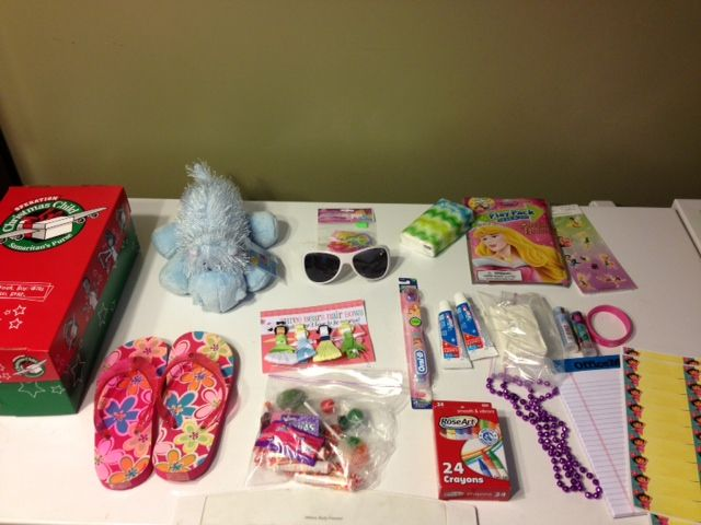 How To Pack An Operation Christmas Child Shoe Box Disney The O