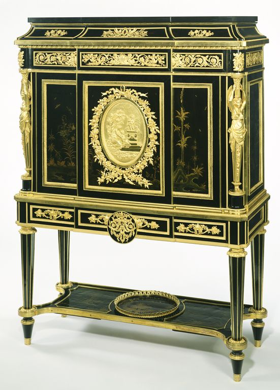 secr taire attributed to jean henri riesener french 1734 1806 master 1768 fournisseur. Black Bedroom Furniture Sets. Home Design Ideas
