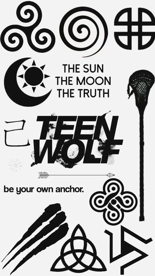 Resultado De Imagem Para Teen Wolf Symbol Teen Wolf In 2018