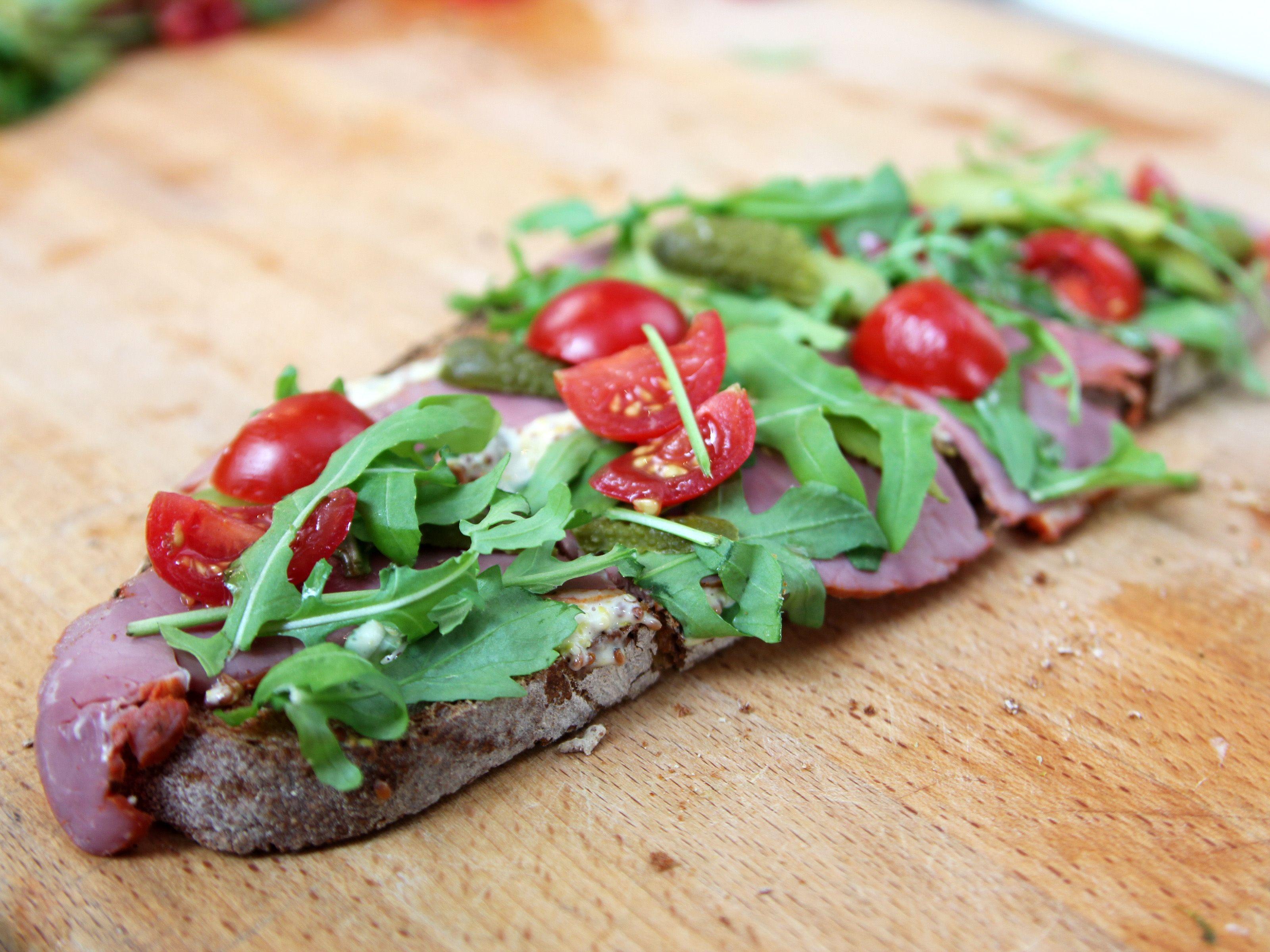 pastrami tartine | recipe | barefoot contessa, paris and barefoot