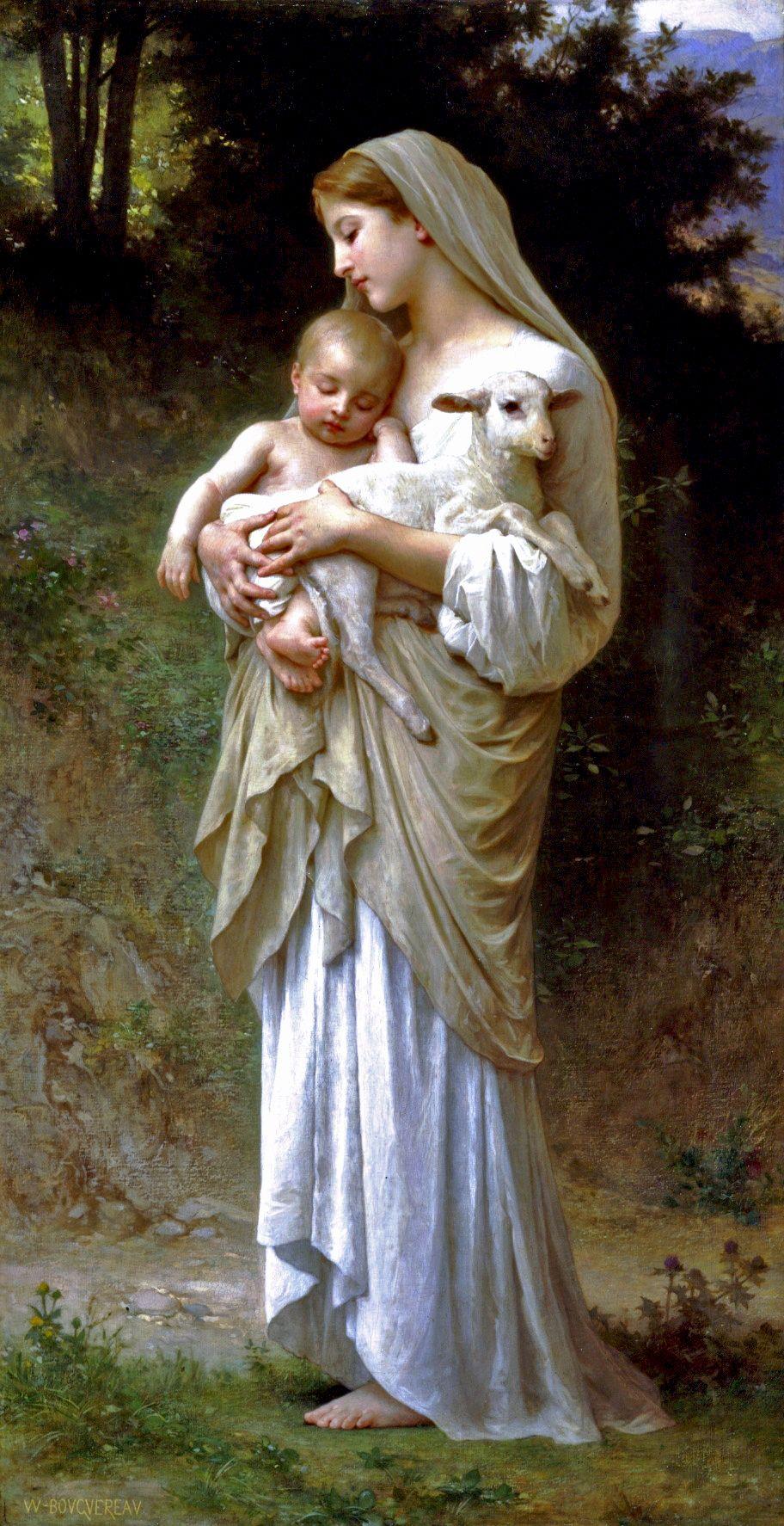 Dream of Spring, 1901 - William-Adolphe Bouguereau