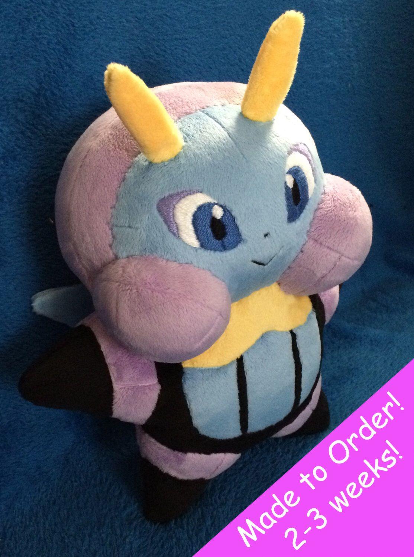2752ea28 Illumise Handmade Custom Pokemon Plush 10