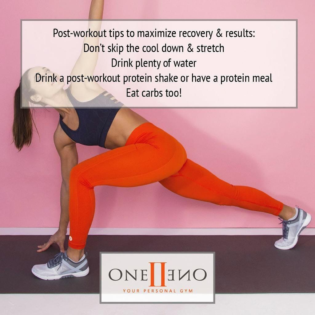 Wanna maximize recovery and results?  Follow these useful tips!  #oneiione #butfirstgym #gymaholic #...