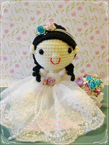 Amigurumi wedding dolls Amigurumi, Crochet & Knit ...