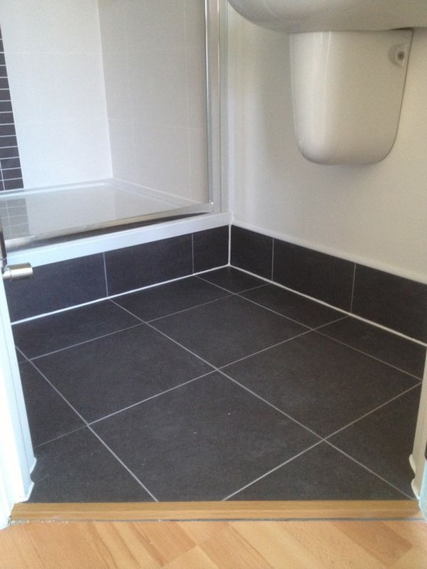 Tiled Shower Tray tiled shower tray riser with bathroom installation in leeds