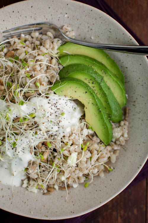 California Barley Bowl (from Whole-Grain Mornings) @Erin B B B B B (naturally ella)