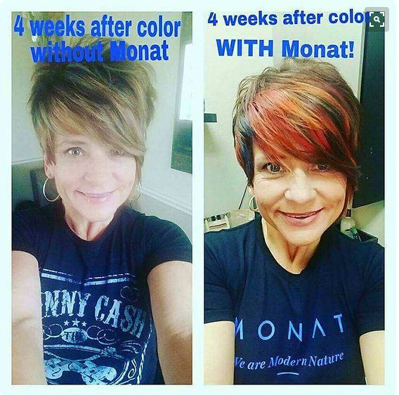 Monat Natural Anti Aging Hair Care That Is Safe For Color Treated