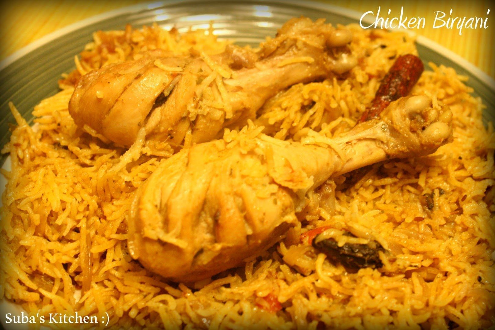 Chicken Biryani Tamil Another Way Biryani Indian Food