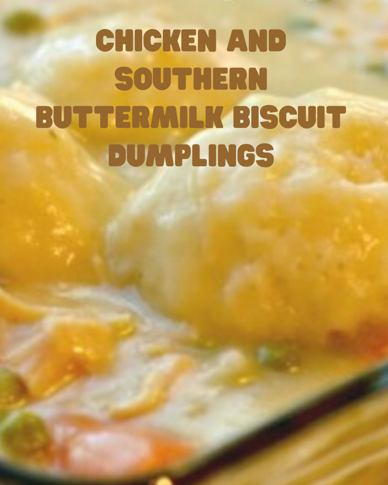Southern Chicken Dumplings With Homemade Buttermilk Biscuit Dumpling In 2020 Chicken And Dumplings Classic Chicken And Dumplings Recipe Buttermilk Dumplings Recipe