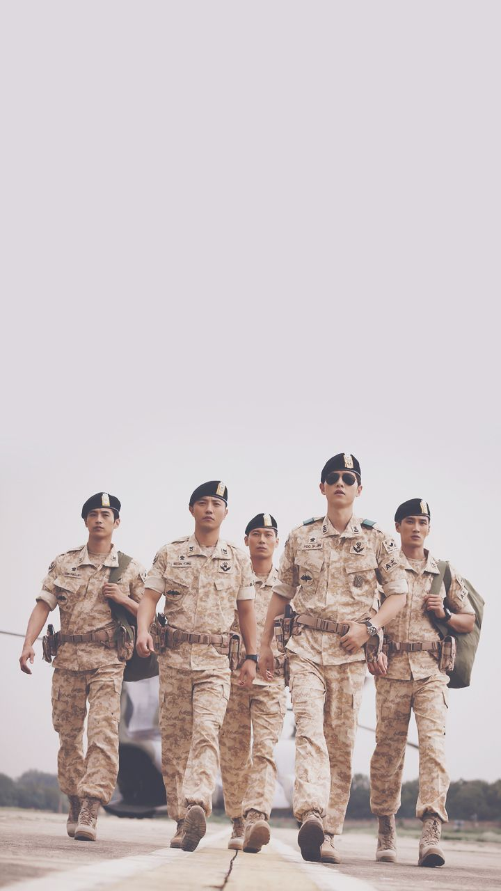 Wallpaper HD Descendants Of The Sun Starring Song