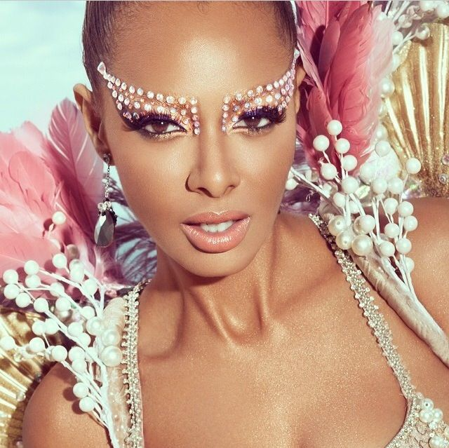 Carnival makeup | Bold Beauty | Pinterest