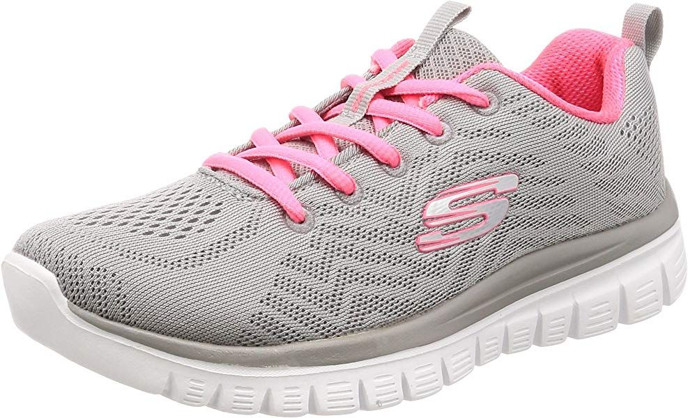 Skechers Graceful Get Connected, Zapatillas para Mujer, Gris