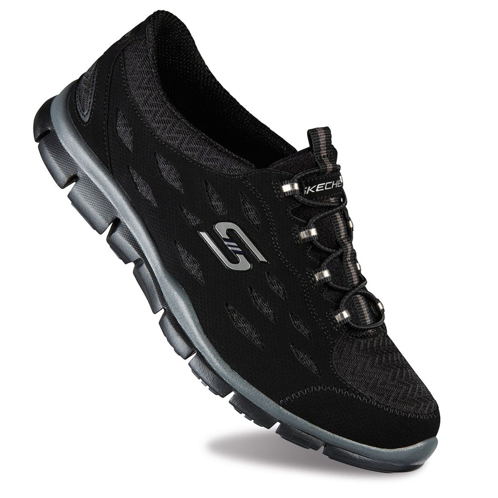 Skechers Gratis Mesh Bungee Women's Slip On Athletic Shoes