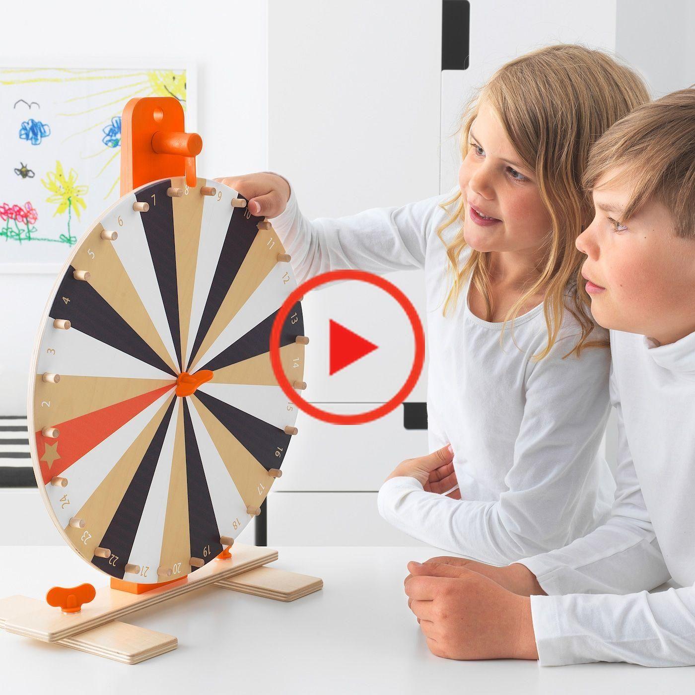 LUSTIGT Prize wheel game IKEA in 2020 Prize wheel