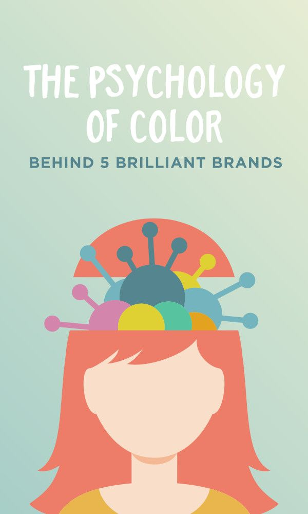 On the Creative Market Blog - The Psychology of Color Behind 5 Brilliant Brands