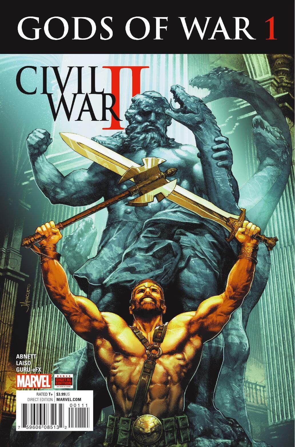 Civil War Ii: Gods Of War #1 Marvelics Story: Dan Abnett Art