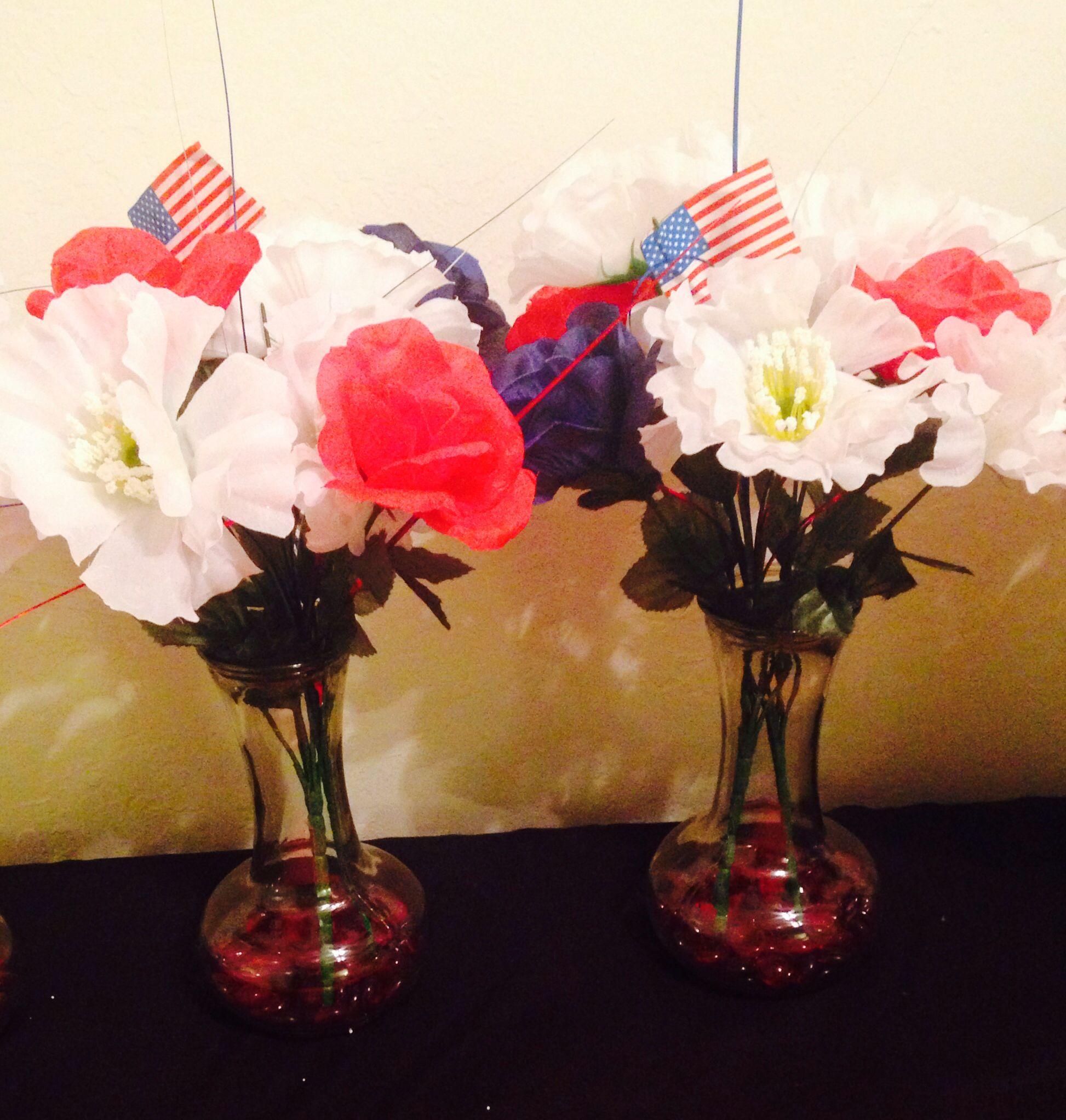 Th of july thanks sister in law for helping me decorations