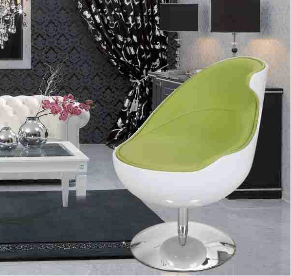 Modern Living Room Furniture Green Accent Chairs