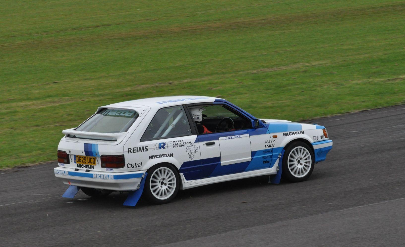 Mazda 323 Rally Car | Classic Cars | Pinterest | Rally car, Mazda ...