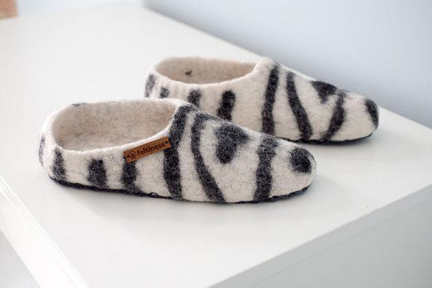Papucie Welniane Papcie Z Filcu Kapcie Z Podeszwa Feltiness Buty Slide Slipper Slippers Shoes