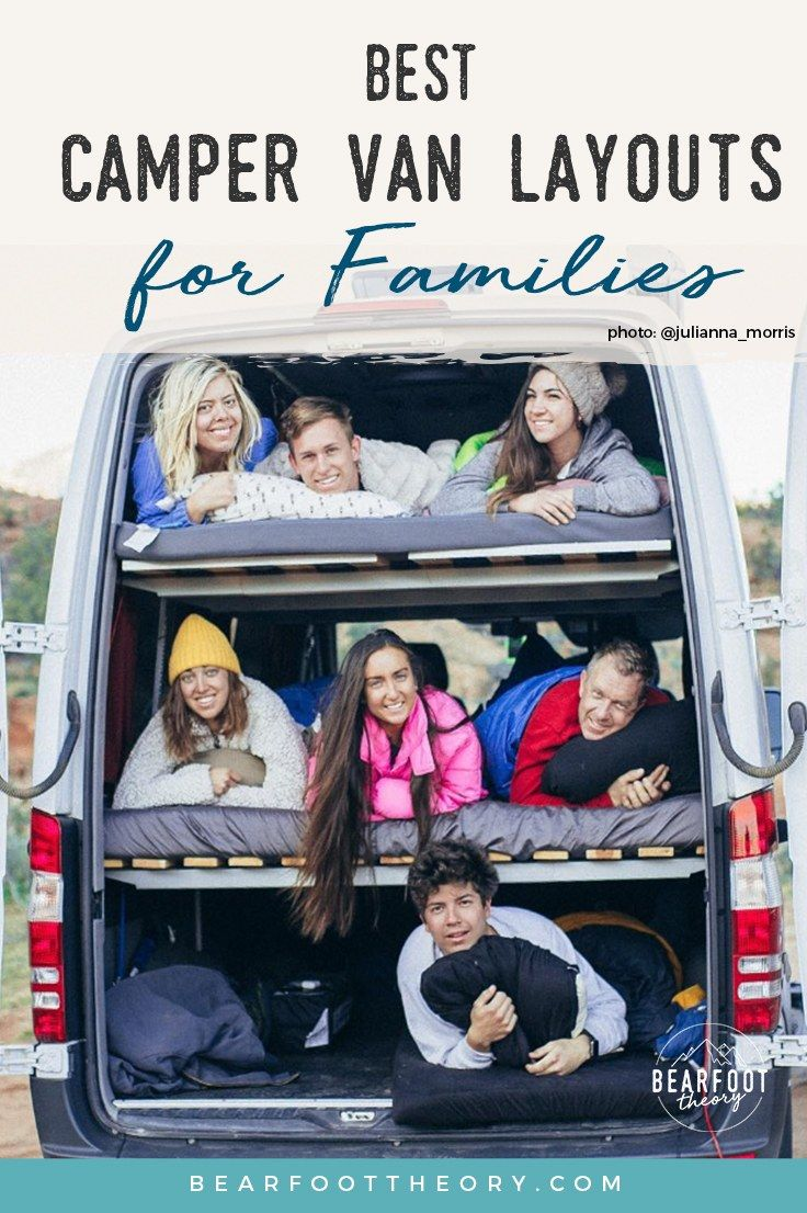 Photo of Best Camper Van Layouts for Families