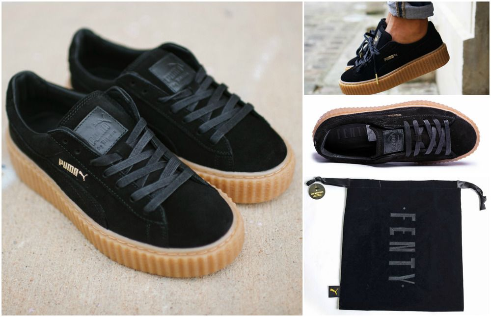 9048df656c8382 AVAILABLE ON OUR EBAY AND AMAZON SHOPS.  PUMA  Rihanna  Fenty  Creepers   Trainers  Sneakers  Badgal  Womens  Ladies  Genuine  New  Riri  Original   Shoes