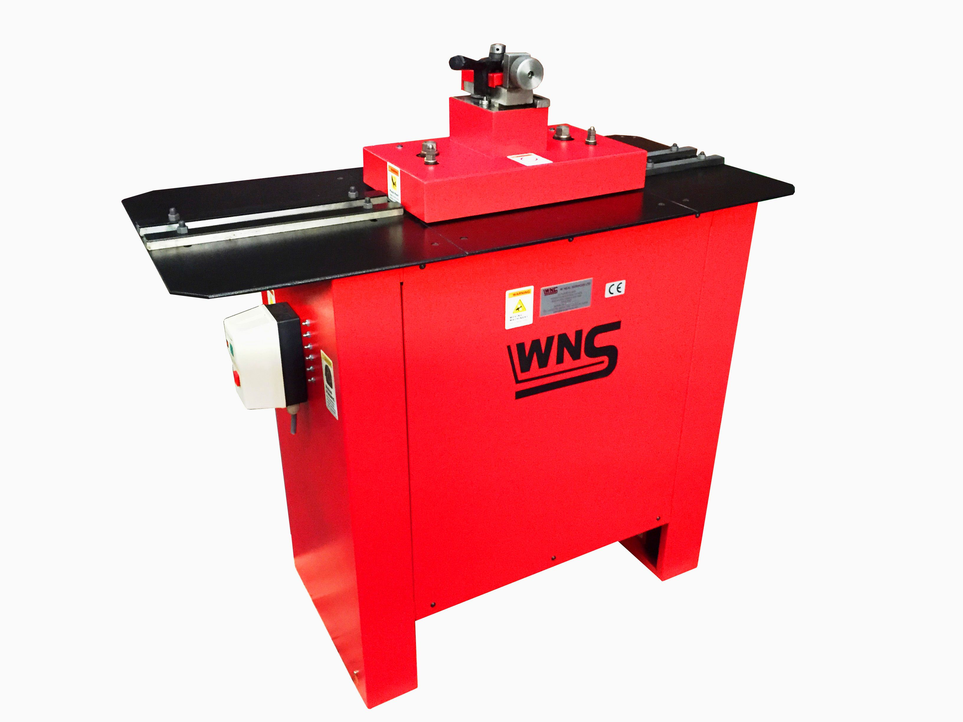 Wns 20swg 1 0mm Pittsburgh Lock Rollformer With Flanging Attachment Rf20 Manufactured By W Neal Services Ltd Industrial Hvac Manufacturing Sheet Metal