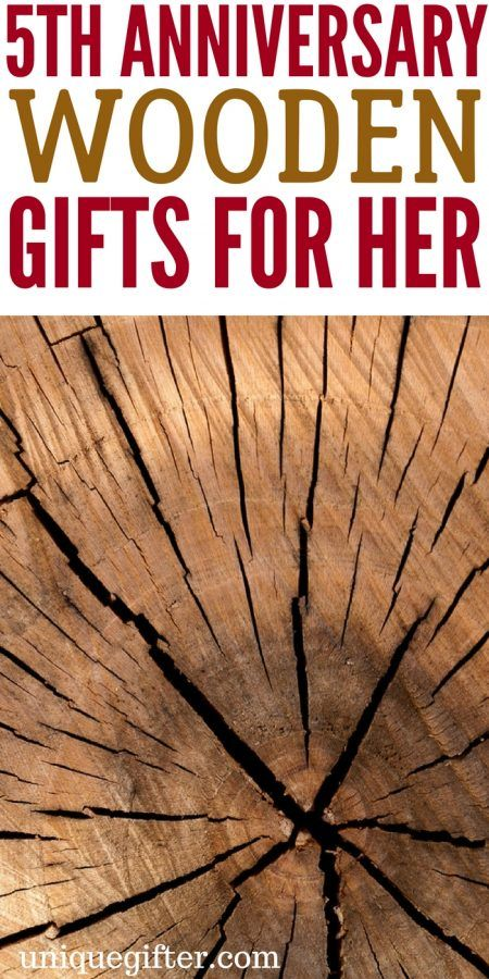 5th Wooden Anniversary Gifts For Her Gift Ideas Five