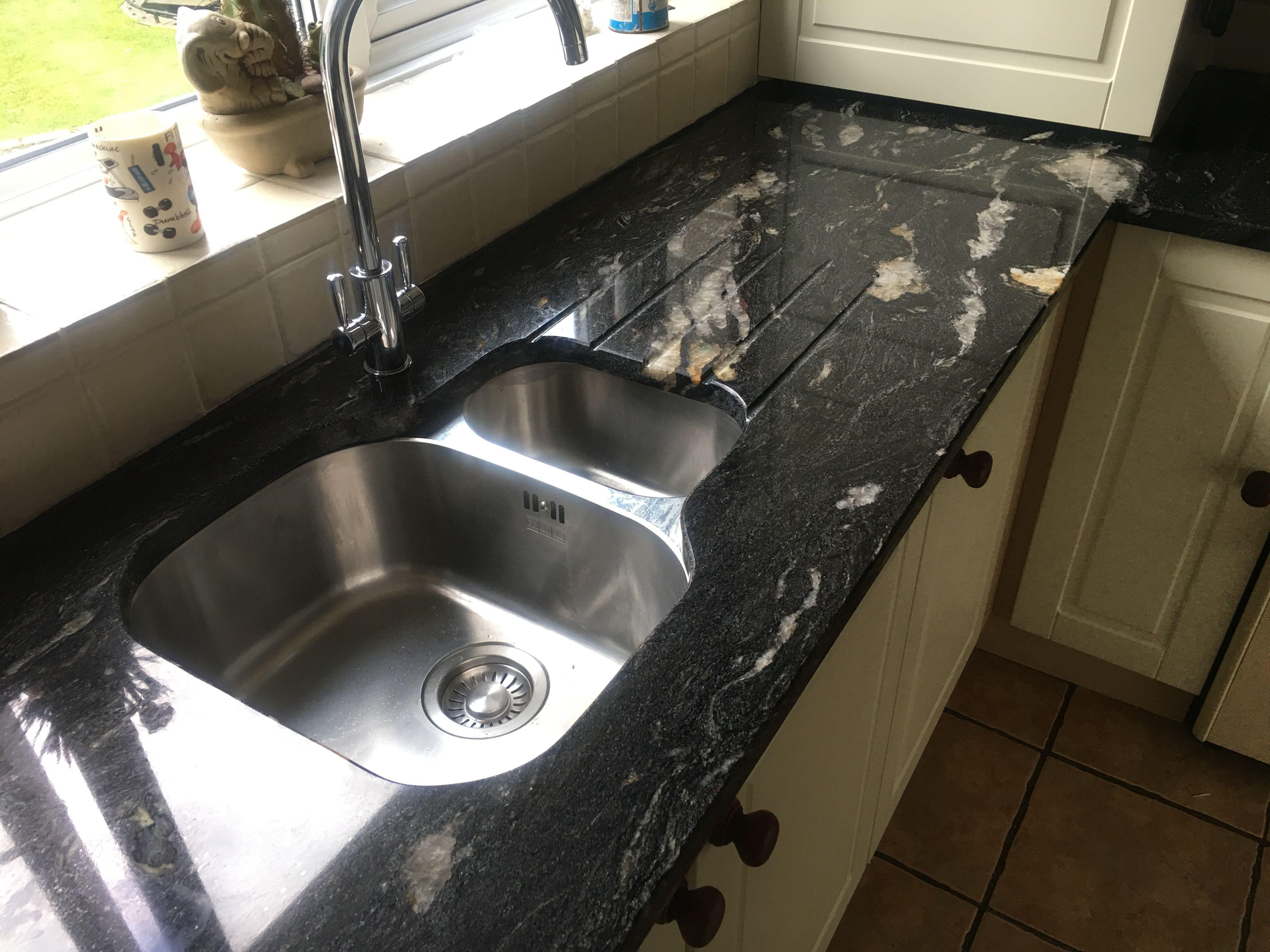 Cosmic Black Granite Kitchen Worktops Granite Worktop Kitchen