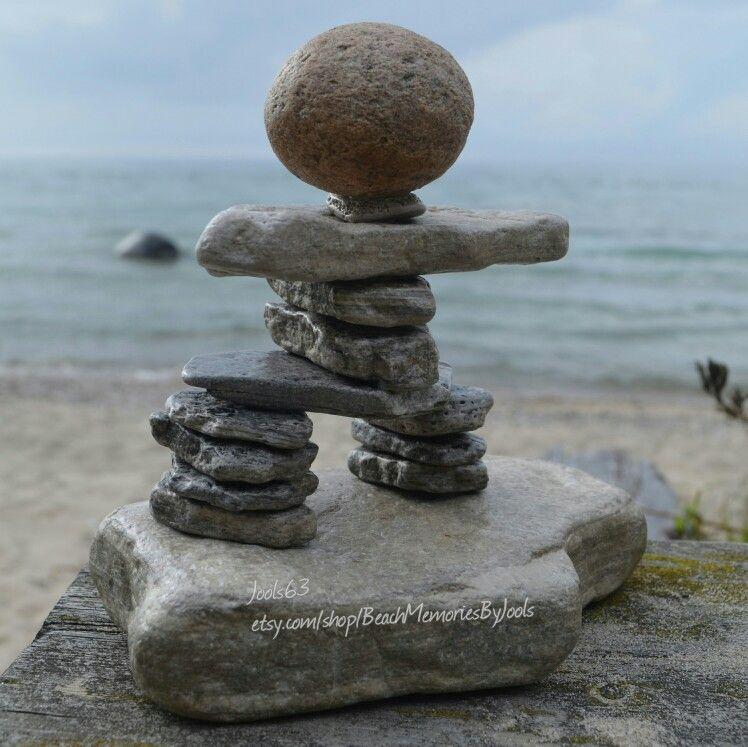 Inukshuk Inukshuk Art Rock Art Stone Art Etsy Rock Stacking
