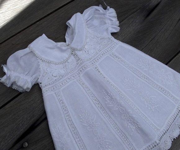 Vestido Bebe Renascenca Branco 3 Meses Com Imagens Vestidos De