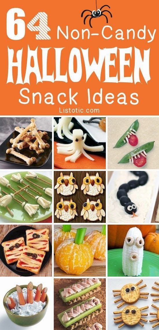 64 Healthy Halloween Snack Ideas Kids Recipes Pinterest - halloween snack ideas