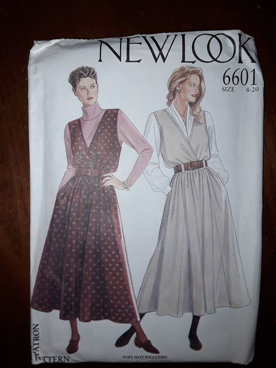 135af83d3 New Look 6601 Sewing Pattern