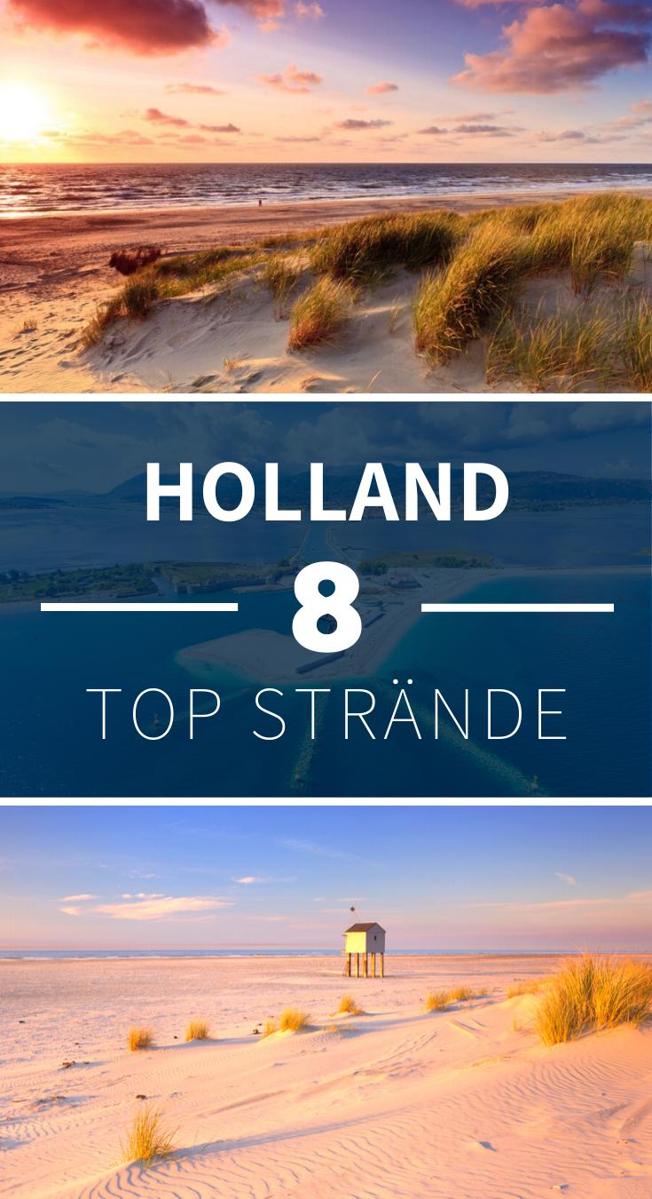 Die schönsten Strände in Holland
