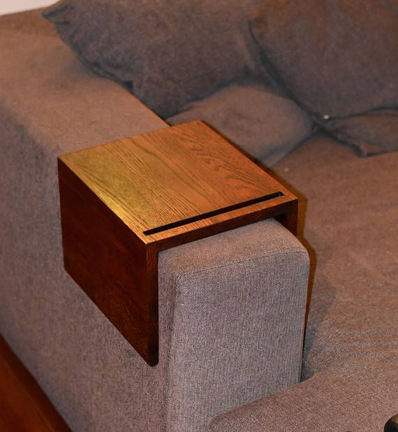 Sofa Arm Tray Sofa Arm Table Couch Arm Table Couch Arm Tray Couch Table Sofa Arm Rest Couch Armrest In 2020 Couch Arm Table Couch Table Custom Sofa