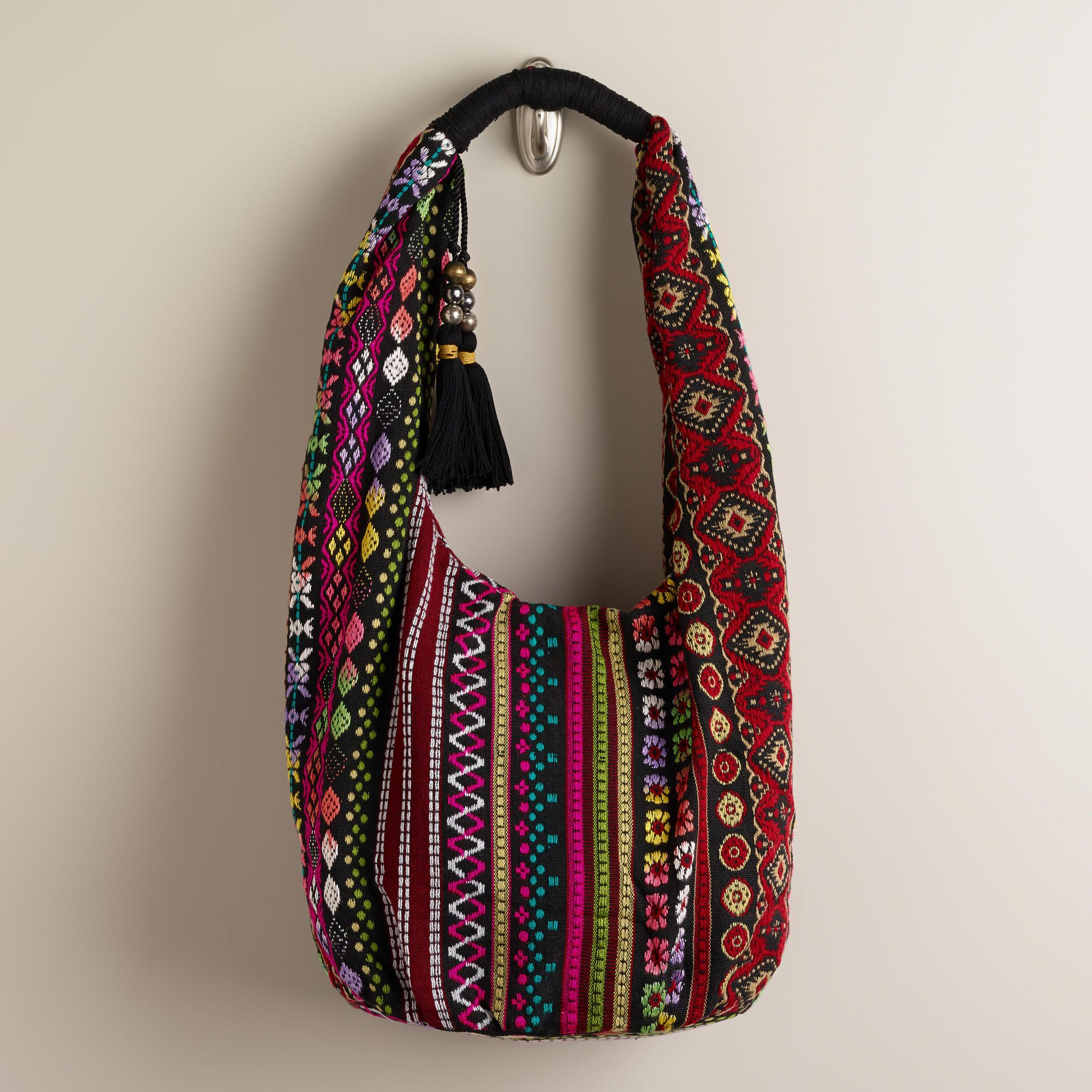 511e067209 Oversized Woven Hobo Bag