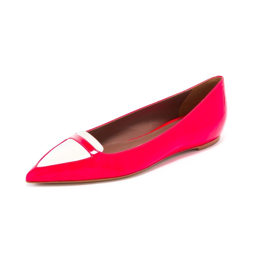 The Alexa by Tabitha Simmons is the perfect flat for the Spring, available at Forty Five Ten