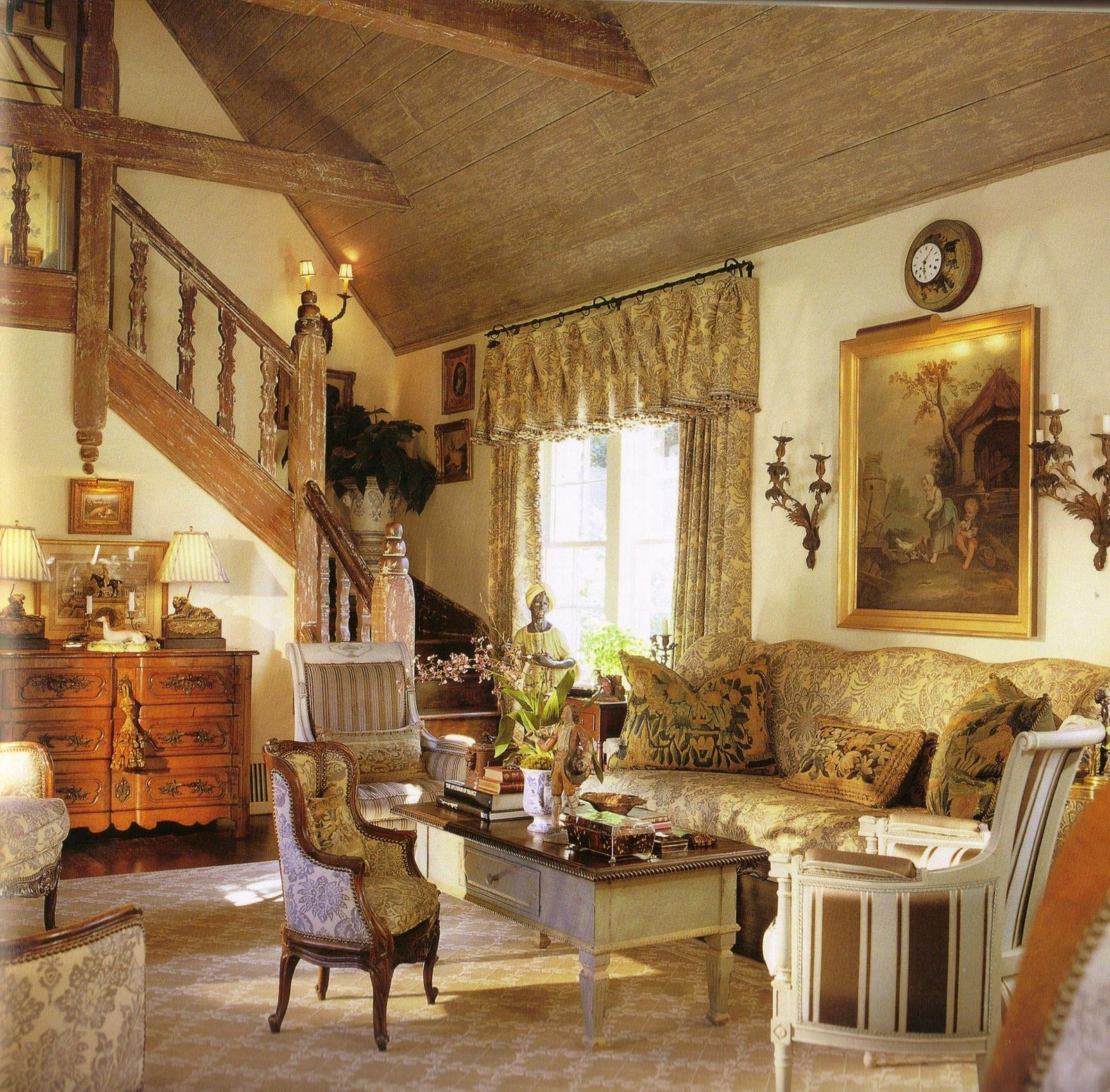 In Our Land No One Does Country French Interiors Better Than