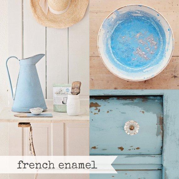Miss Mustard Seed Milk Paint French Enamel, Blue Paint, Blue Gray Paint, Furniture Paint, Chalk Pain Gallery