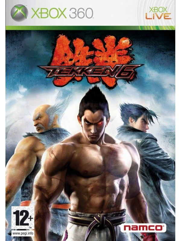 Igra Tekken 6 Za Xbox 360 Xbox 360 Xbox Xbox 360 Games