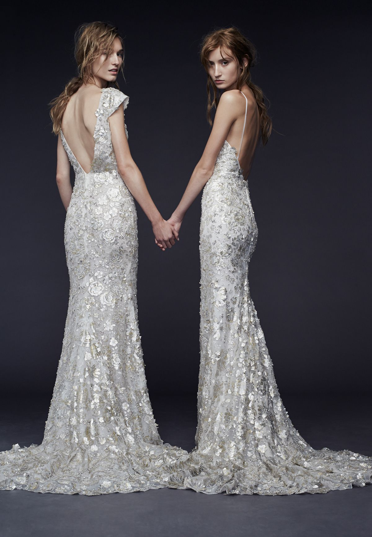 Simple Wedding Dresses Bridal Gowns by Vera Wang Fall